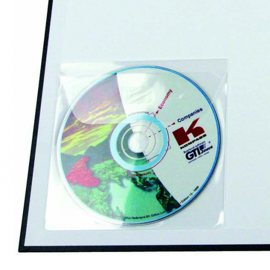 Self-Adhesive CD Pockets