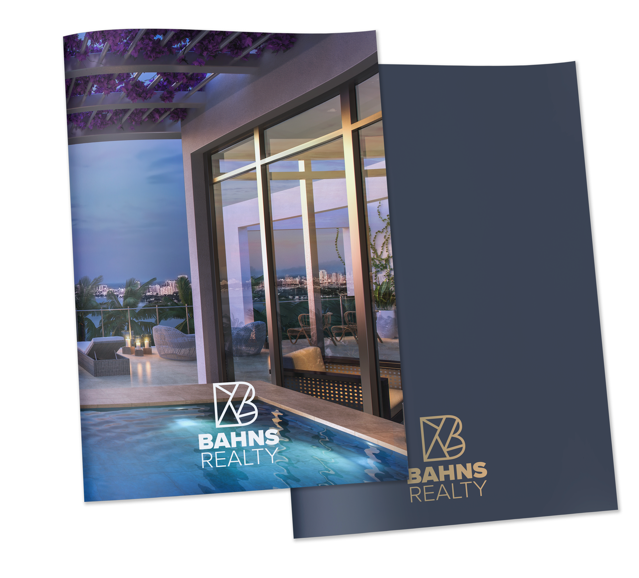 Custom Real Estate Presentation Softcover Books