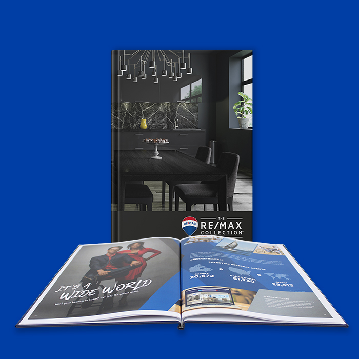 Lay-Flat Hardcover Book Remax Collection Design